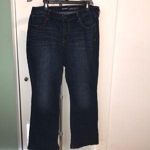 Women's 16short bootcut jeans